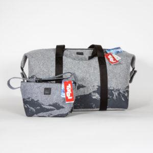 Taschenset angefertigt für Tirol Werbung